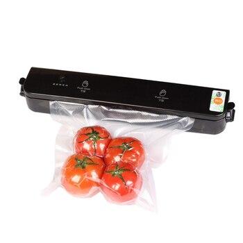 220 V portátil Mini máquina de sellado por calor al vacío sellado por impulso sello embalaje bolsa de plástico Kit de resellador al vacío Dropship color al azar