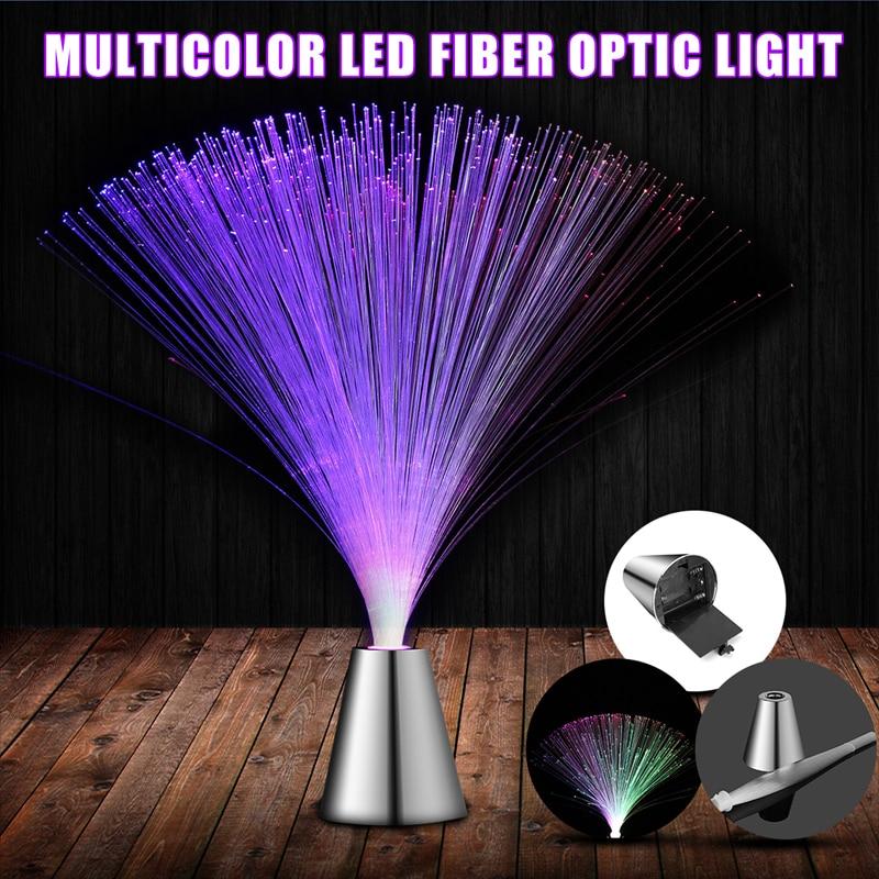 LED Fiber Optic Lantern Colorful Color Fiber Optic Lights Starry Festival Atmosphere Lights Wedding Party Decoration Lights