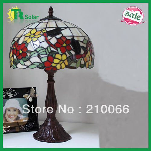 Tiffany desk Table Lamps Home Decor European Rural Contracted Fashion Stained Glass free shipping