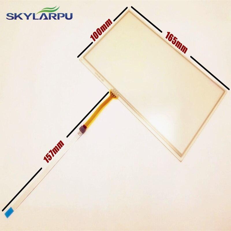 Skylarpu Novo polegadas 165mm * 100mm painel digitador da tela de Toque para navegação Do Carro de 165mm x 100mm DVD universal Touchscreen
