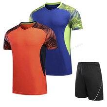 Adsmoney теннисные футболки из полиэстера, быстросохнущая футболка для бадминтона для женщин/мужчин, теннисная футболка, одежда для бадминтона