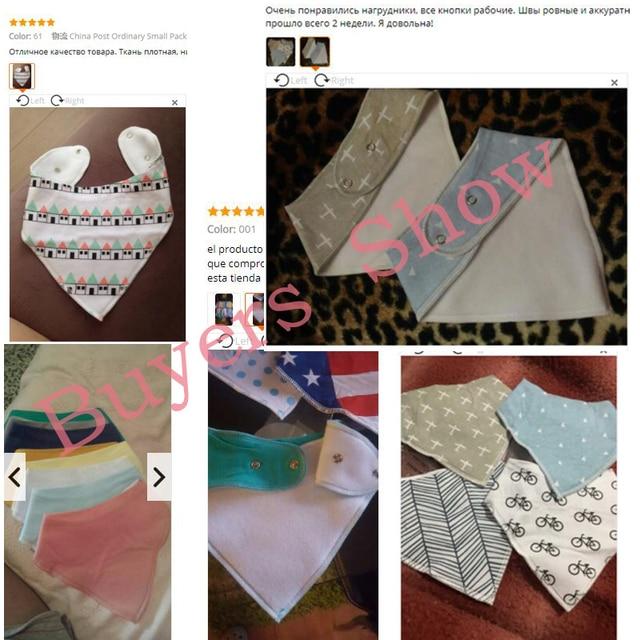 EGMAOBABY Baby Bib New Waterproof Saliva Scarf Fashion Print Baby Towel Baberos Bebes Soft Cotton Bibs Burp Cloths Accessories 5