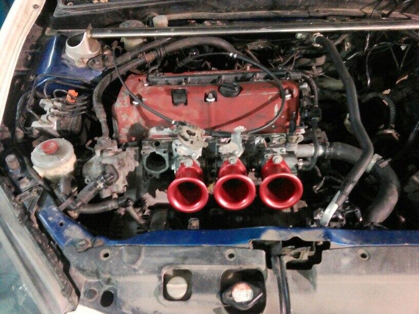 Prix pour Ram tube 4ag 20 valve trompette retenue ae101 ae111 noir d'admission du moteur air corne trompette/air corne entonnoir