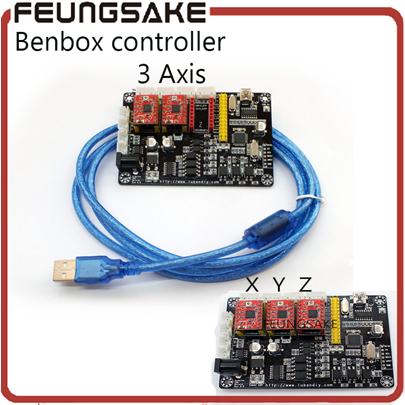 цена на USB Laser 2 Axis Stepper Motor USB Driver Board Controller v5 3 axis DIY laser engraver control board,adjust power, support PMW