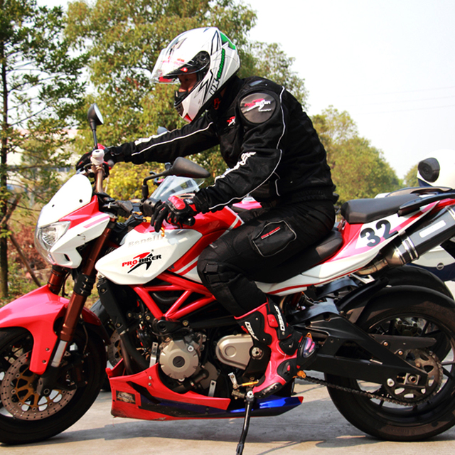 Waterproof Biker Leather Motorcycle Boots