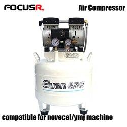 220v 600W 45L/Min bezolejowe wyciszenie sprężarki powietrza wysokiej jakości maszyna 0.8 Mpa dla Novecel Q5 A5 maszyna do laminowania