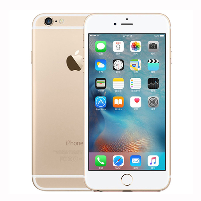 "Image 5 - Unlocked Original Apple iphone 6 Plus SmartPhone Wifi Single Sim Dual Core 16G/64/128GB ROM IOS 8MP Video LTE Fingerprint 5.5""-in Cellphones from Cellphones & Telecommunications"