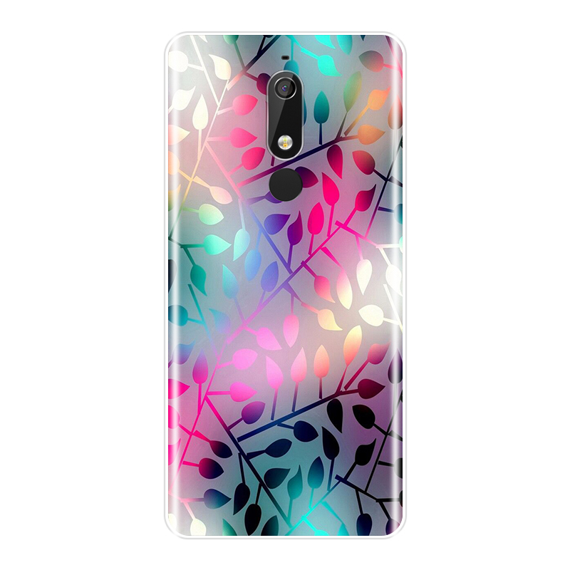 Fashion Printed Phone Case For Nokia 7 1 6 1 5 1 3 1 2 1 Case Soft Silicone For Nokia 7 1 6 1 5 1 3 1 2 1 Plus Back Cover in Fitted Cases from Cellphones Telecommunications