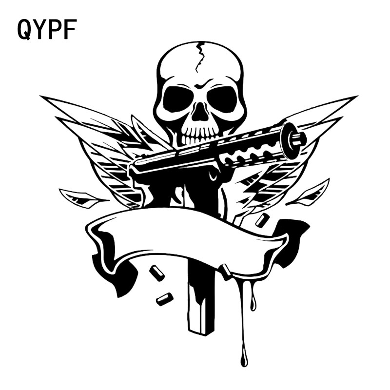 Suicide Revolver Car Bumper Sticker Decal 5/'/' x 3/'/'