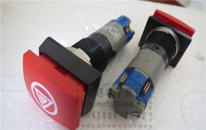 Importé suisse fait 400004 5A250V 4 broches plaqué or bouton poussoir bouton poussoir interrupteur de réinitialisation