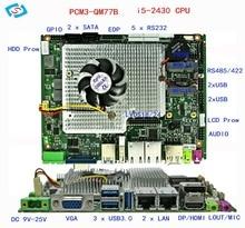 micro pc Genuine laptop motherboard series DDR3 (PCM3-QM77B)