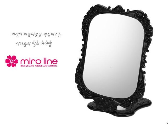 Good DUcare Tabletop Vanity Makeup Mirror Portable Folding Mirrors With  Standing Large