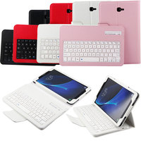 New PU Leather Stand Cover Case For Samsung Galaxy Tab A 10 1inch T580 Detachable Wireless