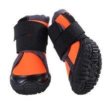 Кроссовки для собак, маленькие, средние, большие размеры, уличные спортивные ботинки для собак, водонепроницаемые скалолазание, Нескользящие ботинки для собак