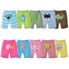 2018 מכנסיים תינוק הקיץ 5 pack תינוקות בנות מכנסיים קצרים מכנסיים קצרים עבור בנים תחתונים בנות חותלות בגדי תינוק בגדי ילדה