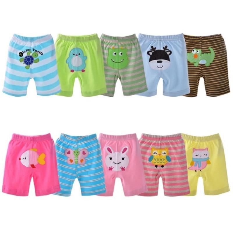 2018 Zomer babybroek 5-pack shorts voor jongens onderbroek meisjes korte broek baby meisjes leggings babykleding meisjeskleding