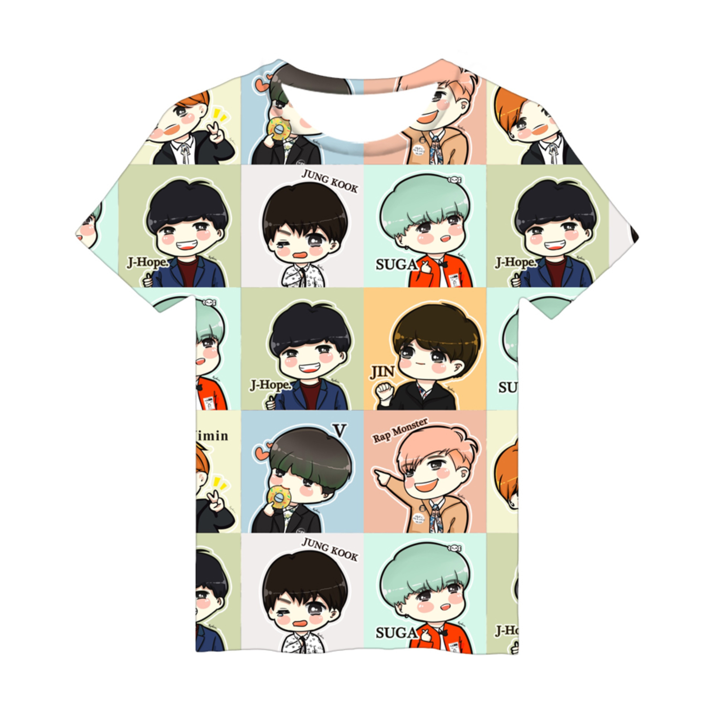 Kpop BTS Fans Viste Love Yourself Mujeres / Hombres Camiseta de manga - Ropa de hombre