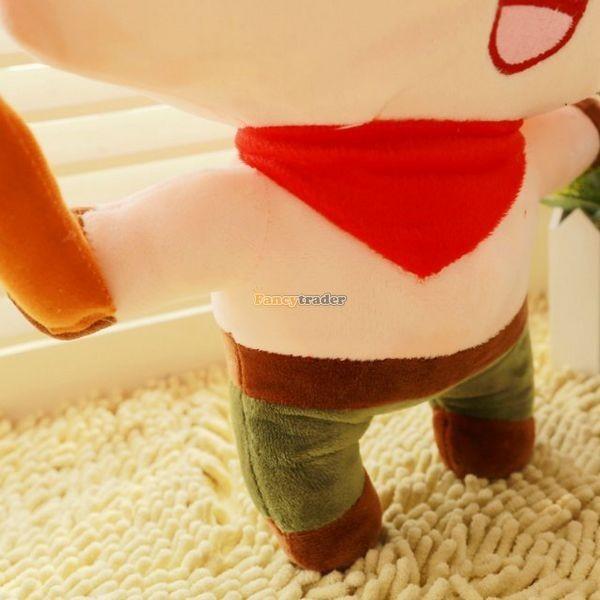 Fancytrader 33\'\' 85cm Super Cute Soft Plush Biggest LOL Teemo Toy, Free Shipping FT50149 (6)
