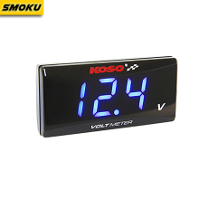 Universal 12V Motorcycle KOSO mini Digital Displayer volt meter Voltmeter for Honda Yamaha Kawasaki all