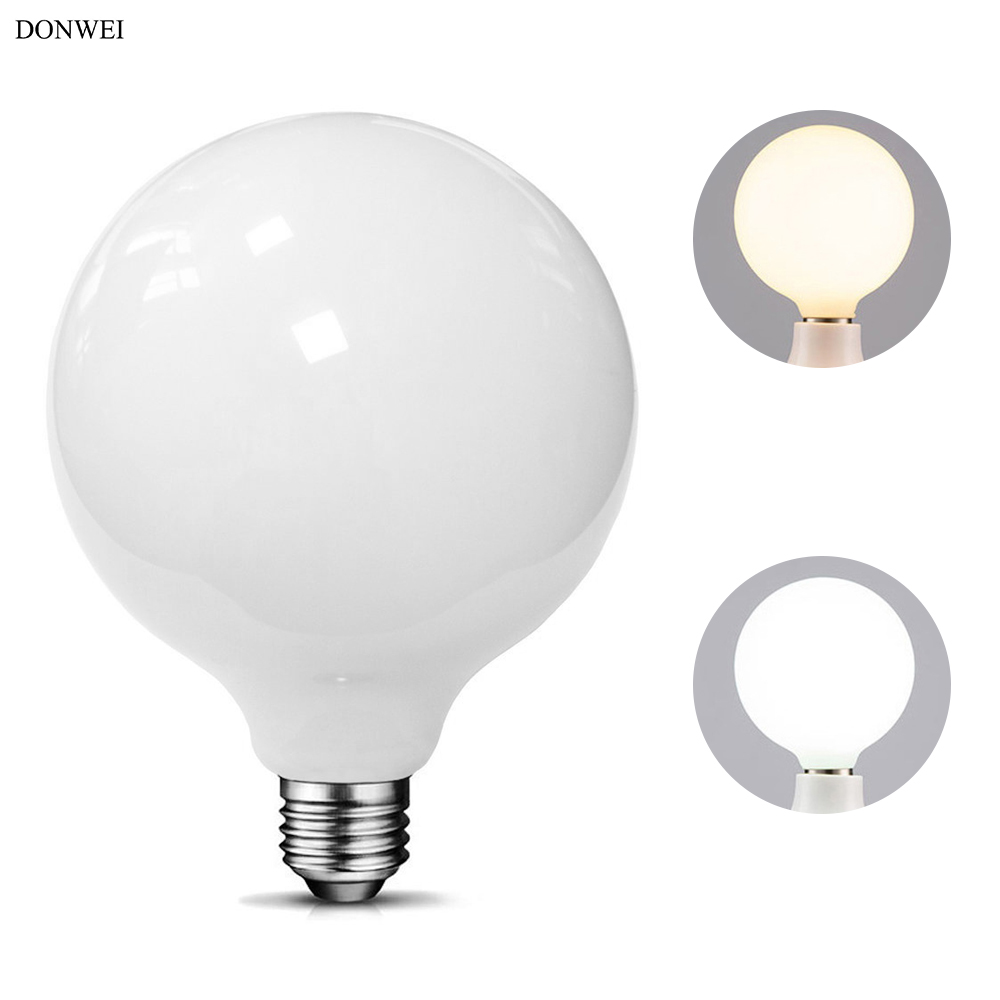DONWEI 6W 9W LED Bulb G80 G95 360 Degree Glass Ball Light Bulbs Indoor Decoration Eye Protection Energy Saving Lamp