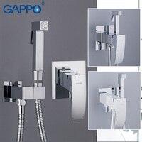 GAPPO Bidets toilet bidet shower enema bidet faucet mixer spray jet bide douche cleaning anal plug shower tap toilet faucets