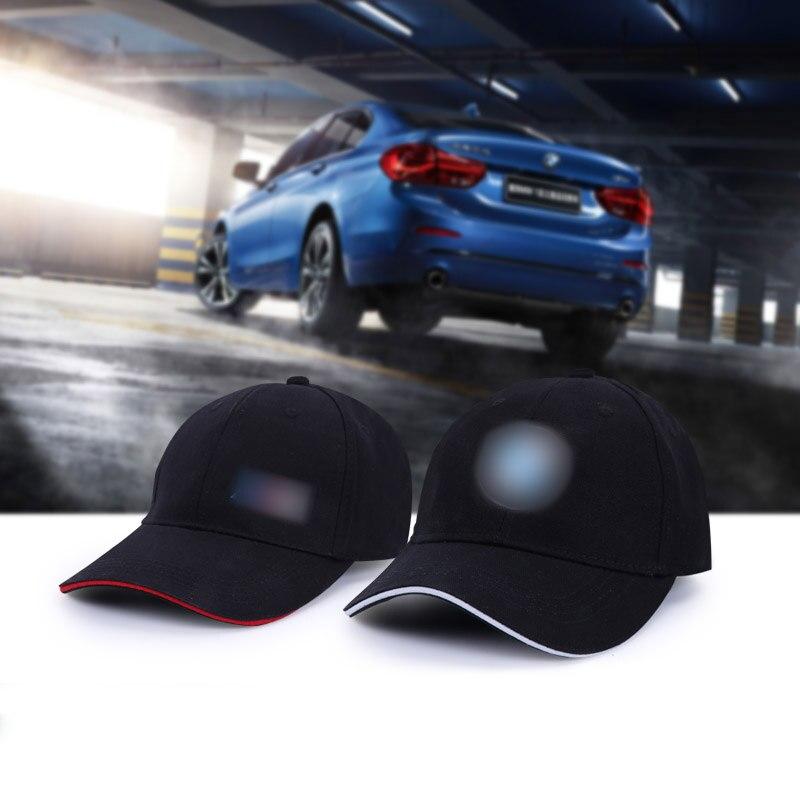 Wholesale New For Bmw M3 M5 E30 Hat Cap Car Logo M GP Racing Cotton Performance Baseball Cap Hat Adjustable Casual Hat Women&man