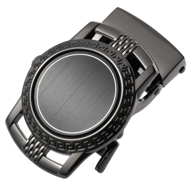 New Genuine Men's Head Belt Buckle Leisure Belt Head Business Accessories Automatic Buckle Width Luxury Fashion  LY136-22090