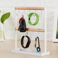 Nieuwe Aankomst Metalen Sleutel Horloge Houder Organizer sleutel magazijnstellingen stellingen hanger voor sleutels 3
