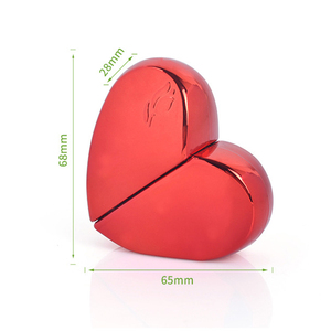 Image 5 - MUB   20ml Heart Shaped Spray Perfume Bottle Glass Airless Pump Woman Parfum Atomizer Travel Bottle Empty Cosmetic Containers