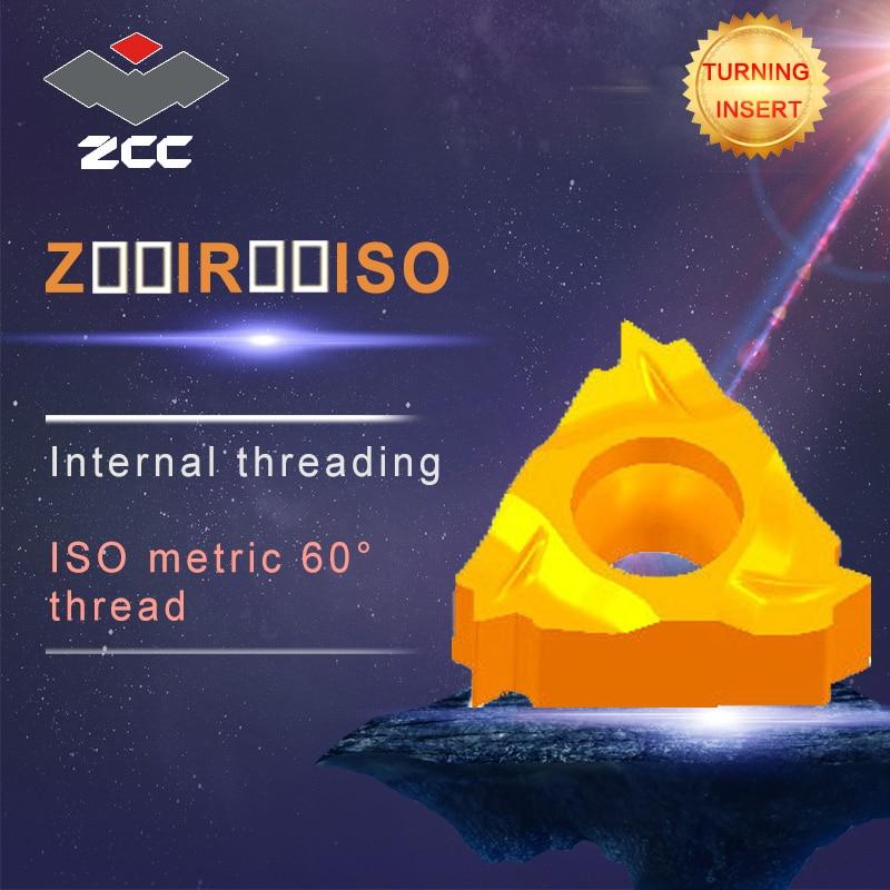 10pcs/lot Z11IR0.5-2.0ISO YBG205 YBG203 original ZCC carbide insert lathe tools cnc carbide threading inserts 10pcs lot sen013dg original