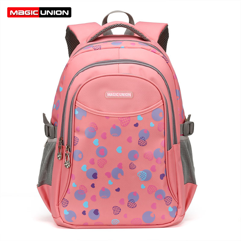 MAGIC UNION Children Backpack In Primary School Backpacks Children School Bags For Girls Boys Bags Waterproof