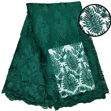 Beautiful Green color stone lace 3d african lace fabrics for women wedding lace dress цена 2017