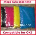 Pó de toner de cor compatível para OKI C9600 / 9650 / 9800 / 9850