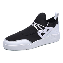 New Fashion Spring/Autumn Men Flats Shoes Lace-Up Action Mesh Men Footwear Lightweight Comfortable Quality Shoes For Male Wear