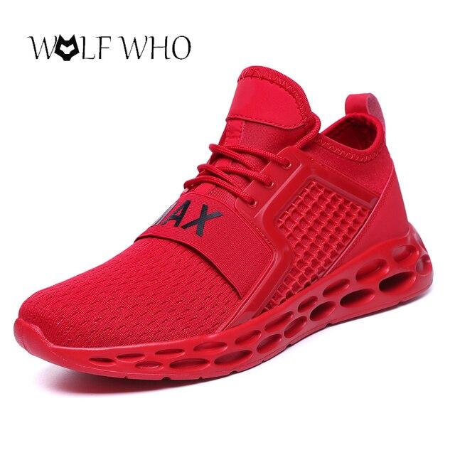 Zapatillas de deporte para hombre, zapatos transpirables, casuales, de aire, para hombre