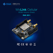 WisLink Cellular Quectel BG96 Arduino Shield NB-IoT Module support 2G 4G LTE EGPRS Network With SIM Card Slot GPS Antenna Q081(China)