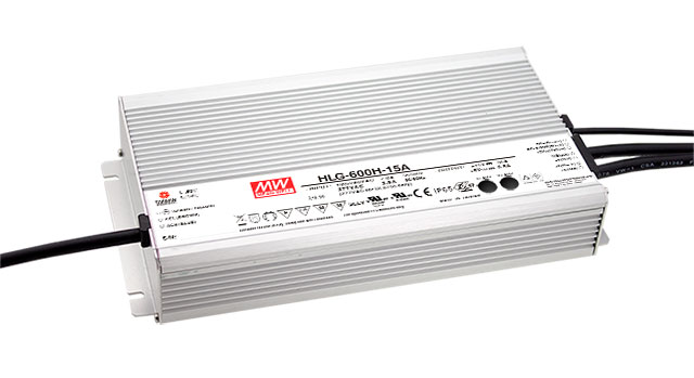 [PowerNex] MEAN WELL original HLG-600H-24 24V 25A meanwell HLG-600H 24V 600W Single Output Switching Power Supply  [freeshipping 1pcs] mean well original rs 25 15 15v 1 7a meanwell rs 25 25 5w single output switching power supply