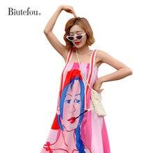 2019 Summer sleeveless long dresses fashion lace patch designs women