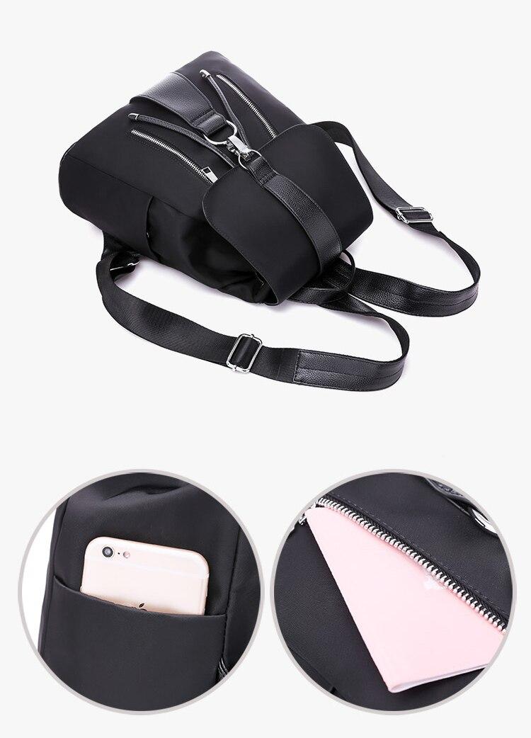 HTB1IjcKquuSBuNjSsziq6zq8pXa7 Fashion Waterproof Oxford Backpack Girls Schoolbag Shoulder Bag High Quality Women Backpacks Mochila Feminina
