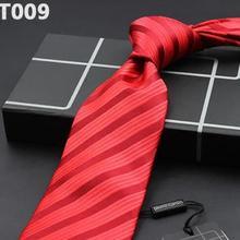 Men's Tie Silk Big red Wedding tie