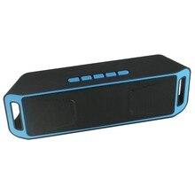 Música Altavoz Bluetooth Manos Libres con Micrófono Inalámbrico Portátil al aire libre Mini Altavoz Apoyo TF Tarjeta de Radio FM para El Iphone Xiaomi