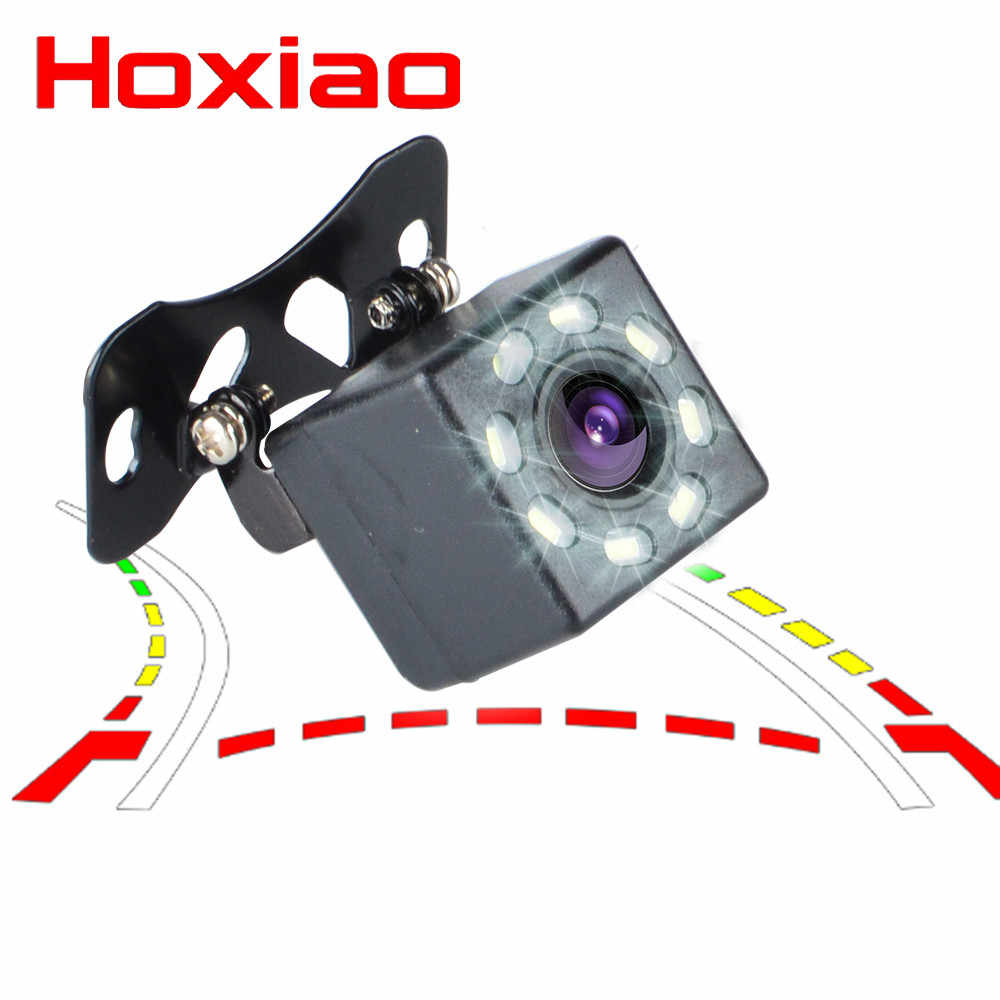8 LED Auto Achteruitrijcamera Parking Camera HD Kleur Achteruitrijcamera Auto Park Monitor 170 Graden CCD Waterdichte Auto Reverse backup Camera