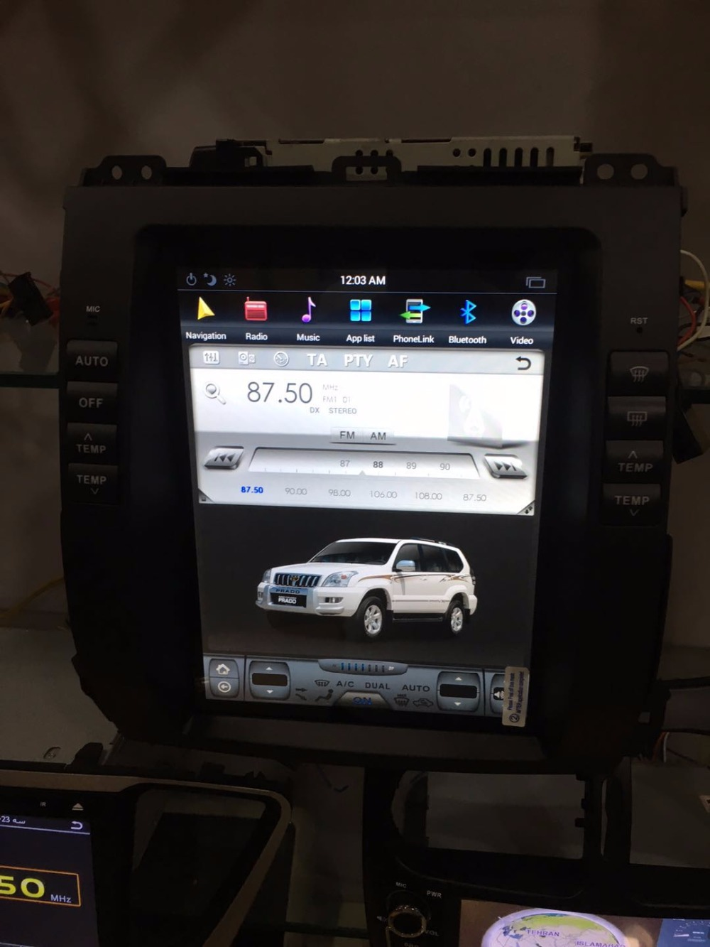 ChoGath 10 4 inch Android 6 1 font b Car b font GPS for Proda 120