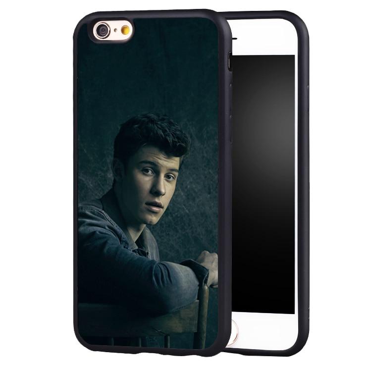 Hit pop singer Shawn Mendes Magcon Soft TPU case cover for iphone X 8 7 plus 6 6splus 5 5s SE