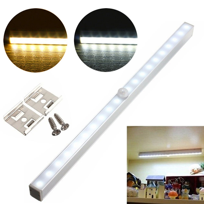 Wireless 20 LED Motion sensor night light battery power 4