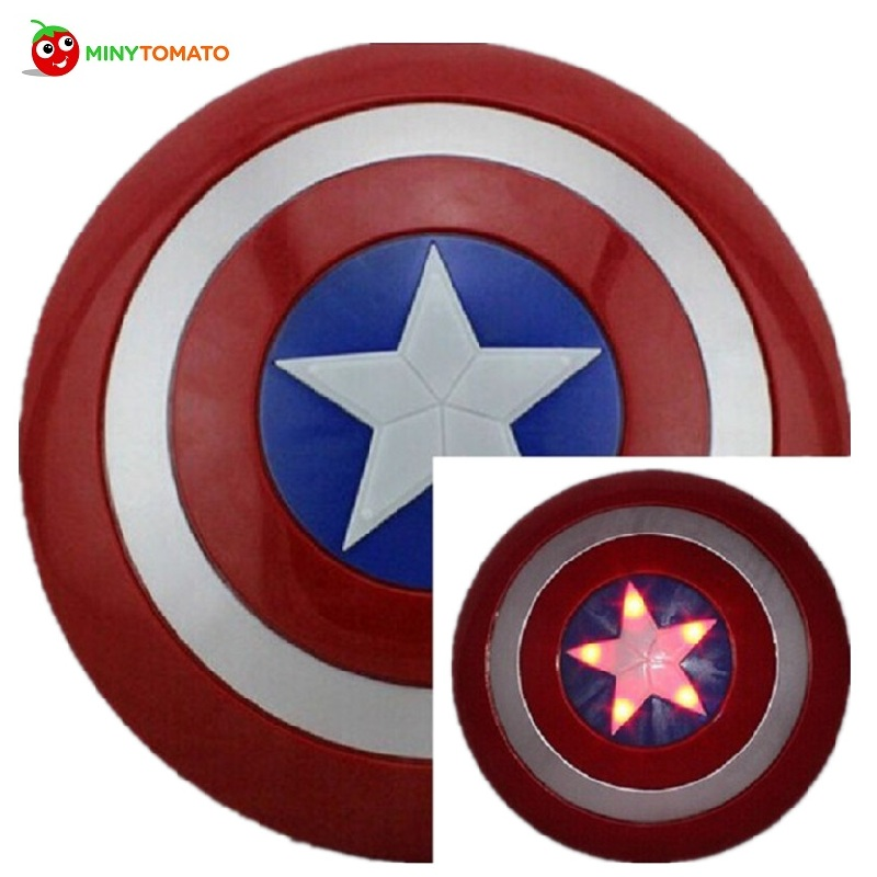 Free Ship Super Hero A Movie Model Captain America Shield With Sound and LED light PVC Action Figures Toys For Children build a bear workshop captain america teddy bear in captain america costume