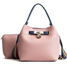 2019 новая женская сумка новые простые цветной ремень через плечо сумка мешок сплошной цвет мать Диагональ красный свежий женская сумка