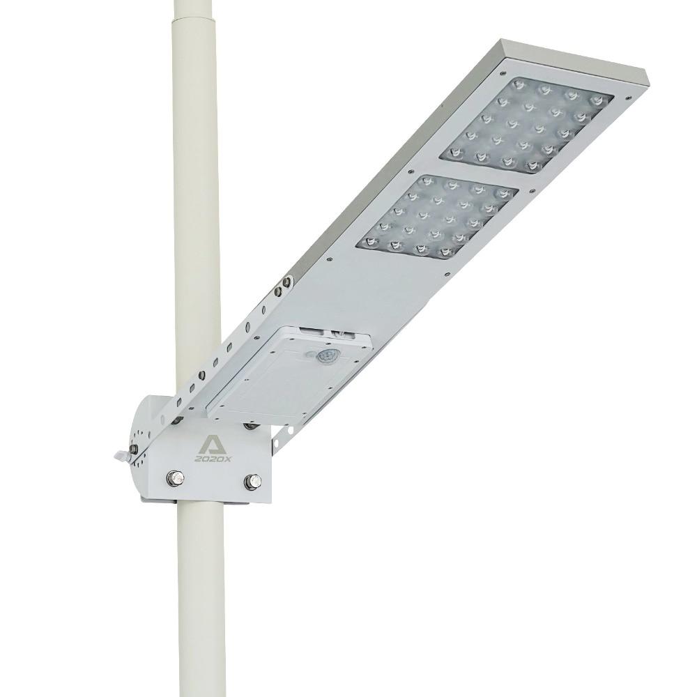 Alpha 2020X Outdoor Waterproof Motion Sensor Solar Powered LED Pole Wall Street Path Light For Garden 3 Working Modes - 2