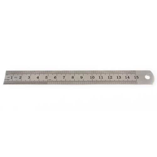 Stainless Steel Measuring Ruler Rule Scale Machinist Tools 15cm 6 Inch