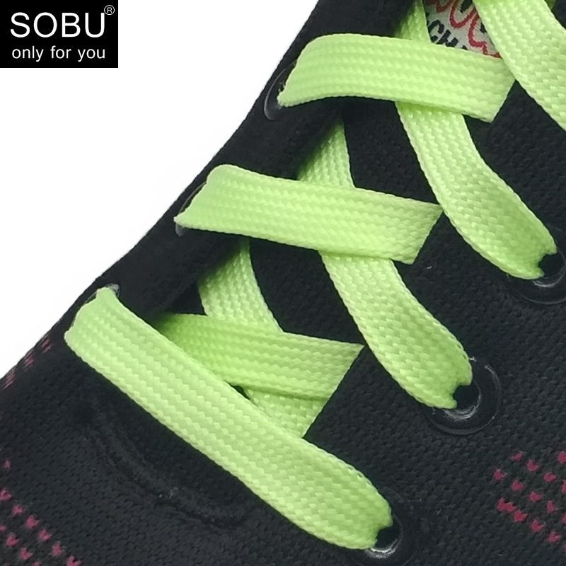 1 Pairs  Luminous Shoelace Glow In The Dark Fluorescent Shoelace Sport Flat Shoe Laces N059 100cm 1 pairs 2 pcs sport men women luminous shoelace glow in the dark fluorescent shoelace athletic flat shoe laces asl661a